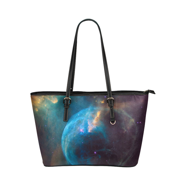 Earth Leather Tote Bag