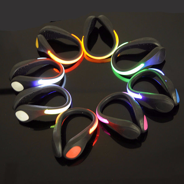 Luminous Safety Lights Warning Shoe Clips