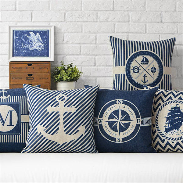 Beautiful Anchor Throw Pillow Covers