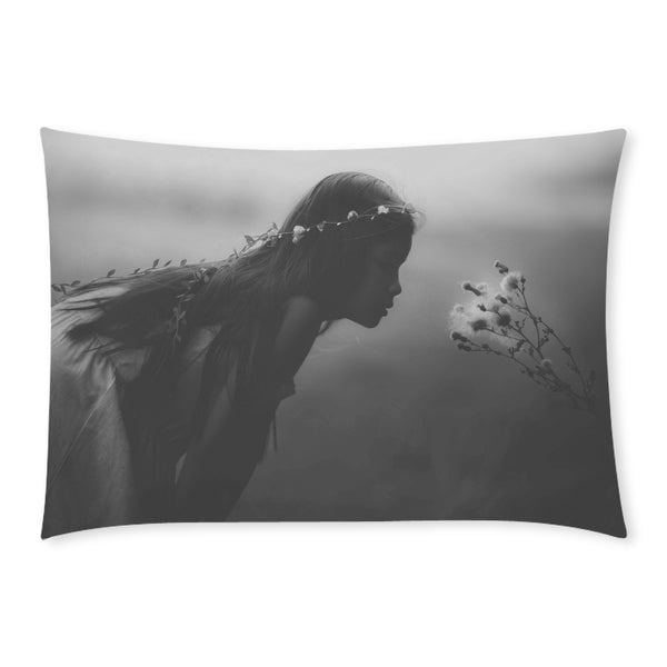 Dreaming Girl Rectangle Pillow Case