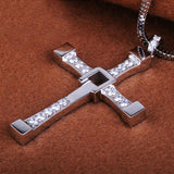 Silver Plated Jesus Cross Pendant for Men or Woman