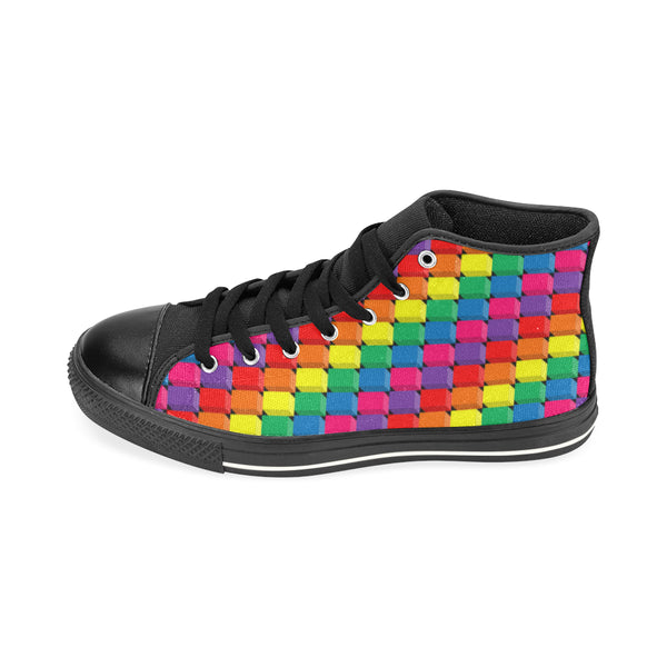 Pride High Canvas Sneakers