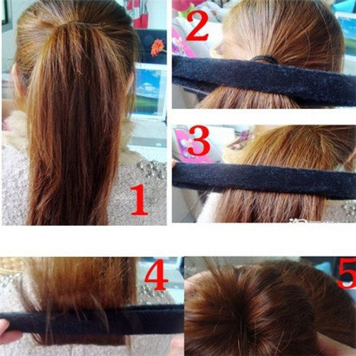 Create your hair bun in a tick!