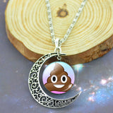Poop Emoji Necklace