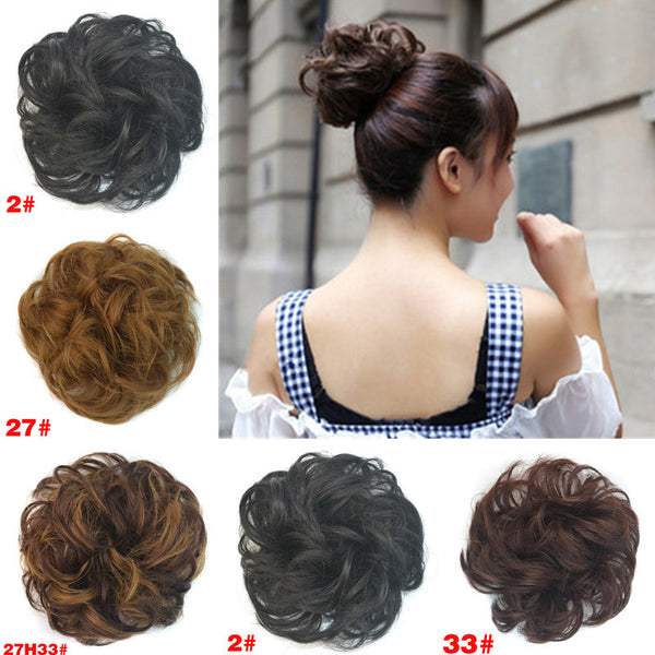 Curly Scrunchie Hair Bundles