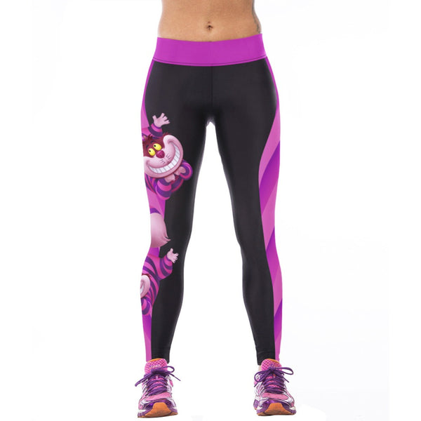 Limited Edition - Cheshire Cat Fitness Leggings