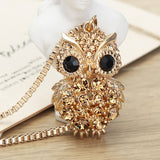 Owl Long Chain Necklaces