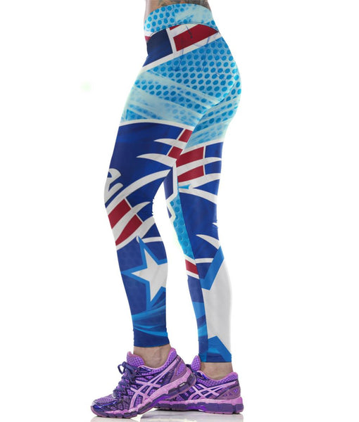 Limited Edition- New England Patriots Sports Leggings