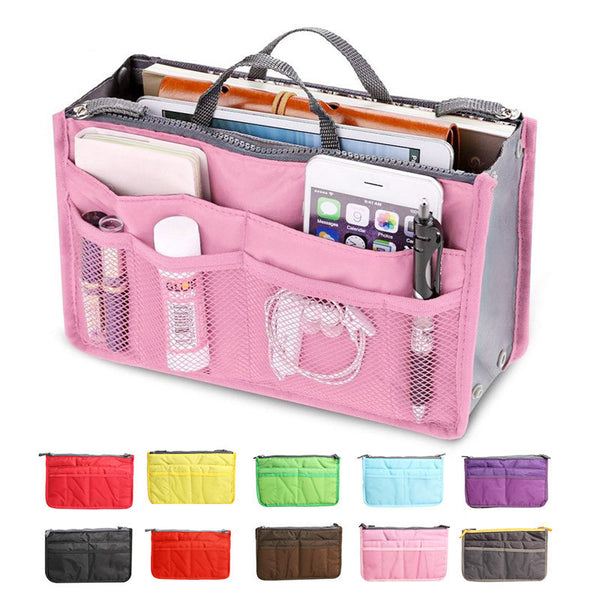 Slim Bag in Bag Purse Organiser