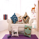 Dachshund Throw Pillow Covers
