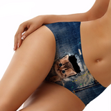 Denim Cat Panties