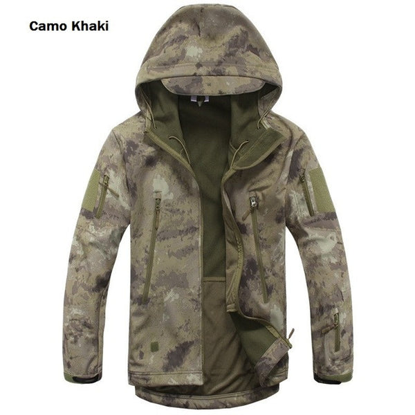 Military Tactical Camo Khaki Jacket