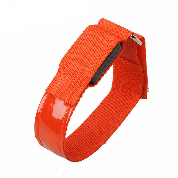 LED Sports Safety Arm/Wrist Band - Red
