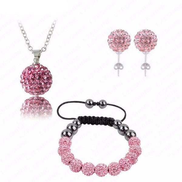 Crystal Ball Jewelry Set
