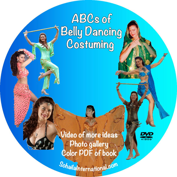 ABC's of Costuming, Ideas and More Book and DVD combo - Sohaila's Boutique of Treasures