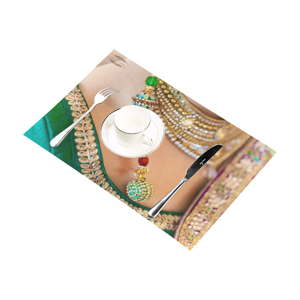 Belly Dance Jewel Table Placemats