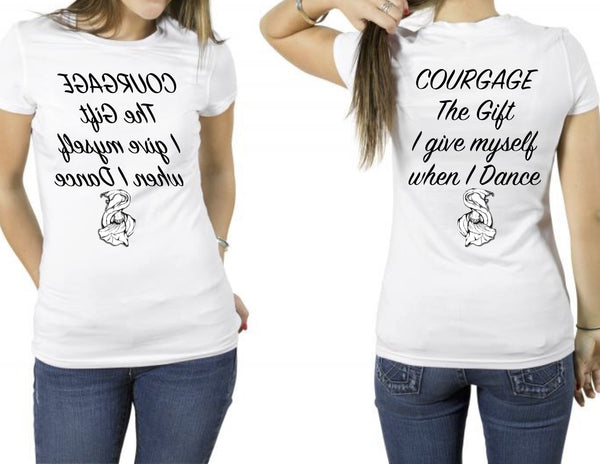 Empowering Mirrored T-Shirts