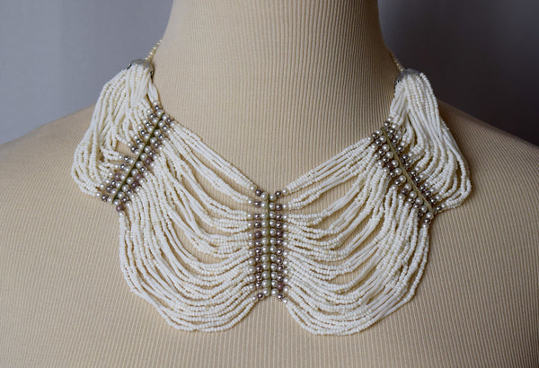 Glass Beaded Choker necklace and Earring Sets - Sohaila's Boutique of Treasures