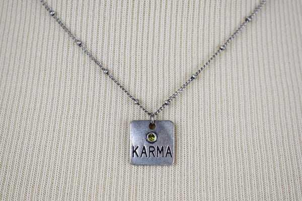 Karma and Faith Necklaces