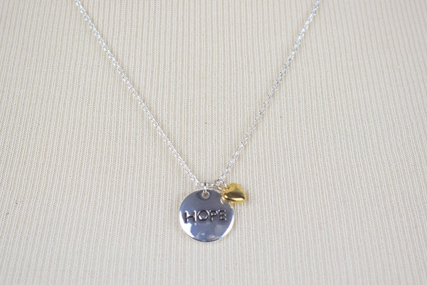 'Hope' necklace