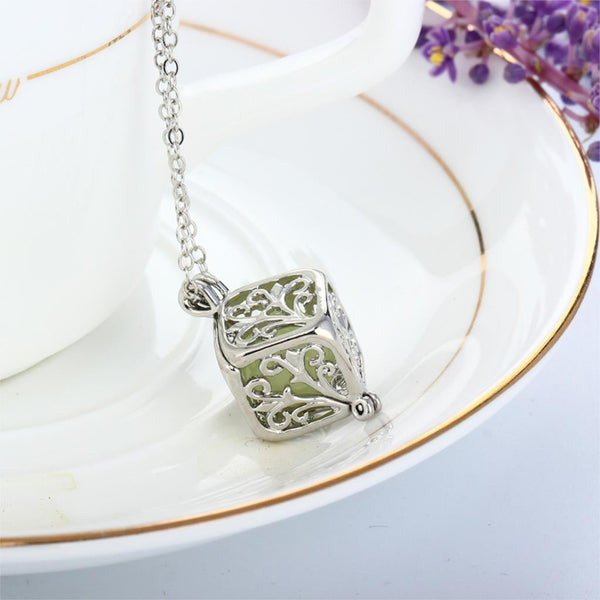 'Let it Glow' Tree Of Life Necklace