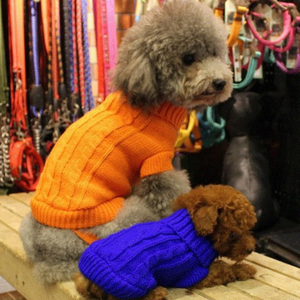 Soft and warm Pet Sweater - Sohaila's Boutique of Treasures