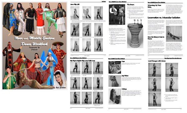 Near and Middle Eastern Dance Book 2nd Edition - Sohaila's Boutique of Treasures