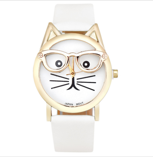 Purr-fect Cat's Glasses Watch - Sohaila's Boutique of Treasures