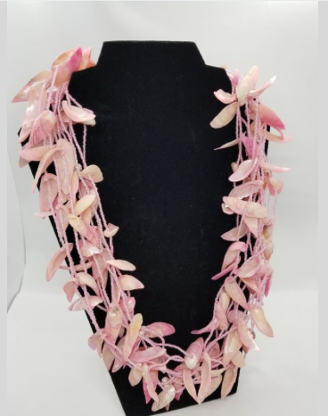The Pink Shell Necklace
