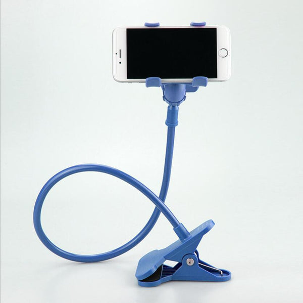 360 Rotating Flexible Long Arm Cell Phone and Tablet Holder Stand