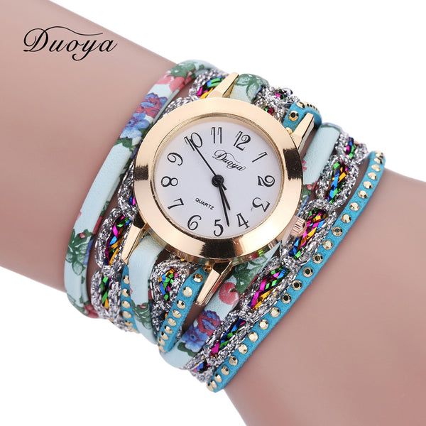 """The Duoya Collection"" Luxury Bracelet Wristwatch - Sohaila's Boutique of Treasures"