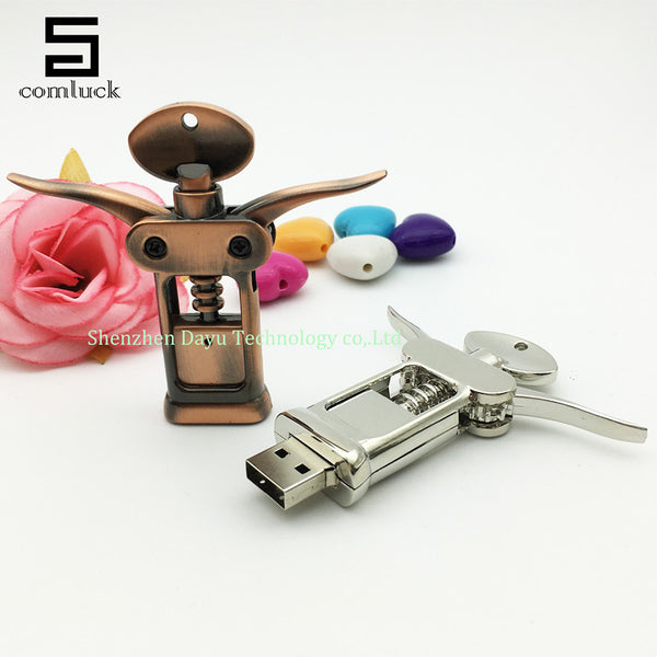 USB wine opener flash drive