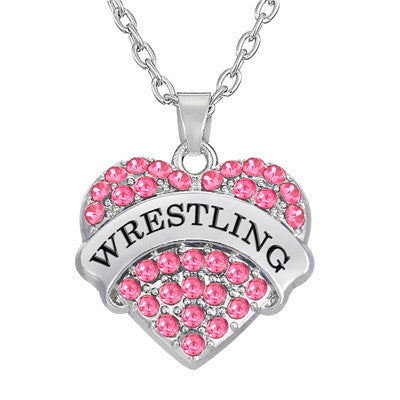 Sporty wrestling necklace - Sohaila's Boutique of Treasures