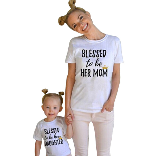 'Mommy and Me' T-shirts