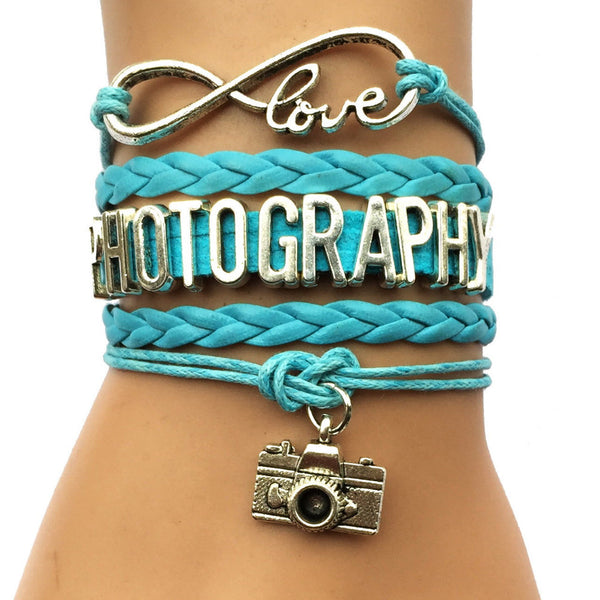 Love Photography Bracelet - Sohaila's Boutique of Treasures