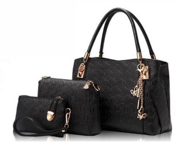 'The Sophisticated Lady' HandBag Set - Sohaila's Boutique of Treasures