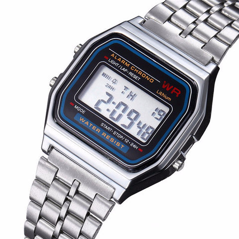 Classic Digital Mens Watch