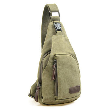 Canvas Crossbody Backpack
