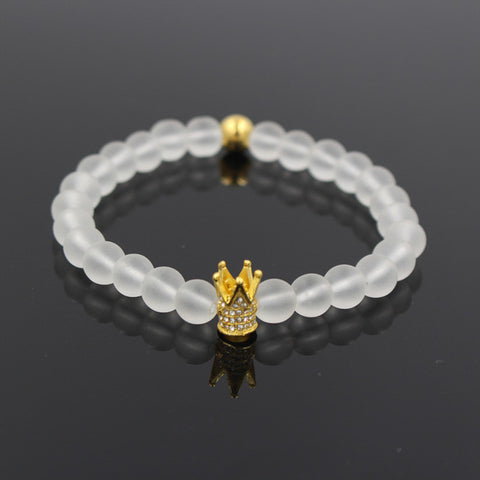 Kings Crown II Onyx Bracelet