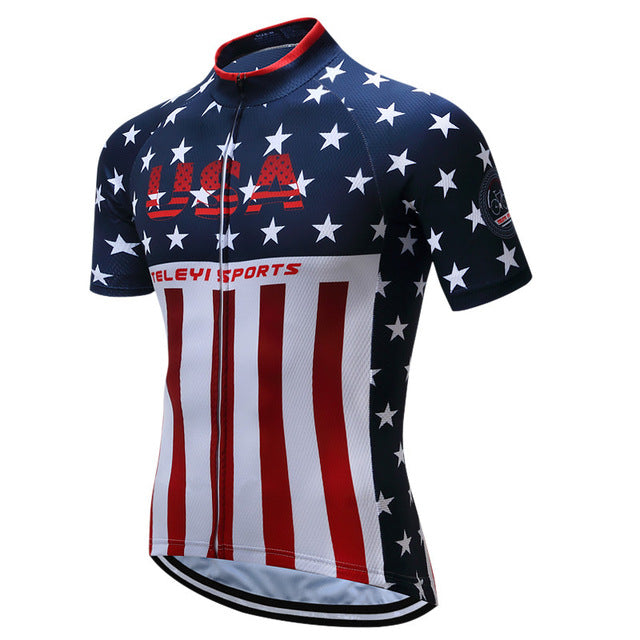 Breathable  Racing Cycling Jersey
