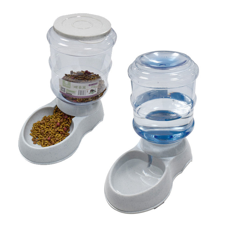 Automatic Dog  Food Water Feeder - Discount Storehouse