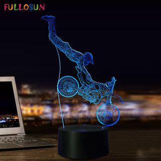 Motorcycle 3D Decorative Lamp - Discount Storehouse
