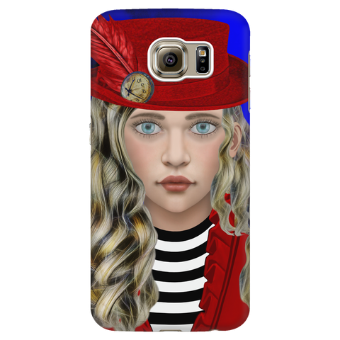 alice 4 - samsung phone case