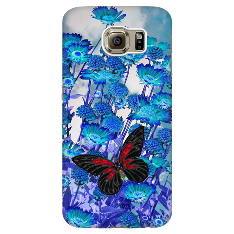 Blue Daisies - Samsung phone case