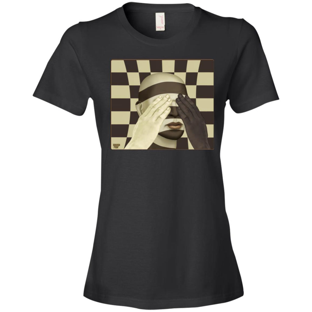 color blind - Women's Fitted T-Shirt