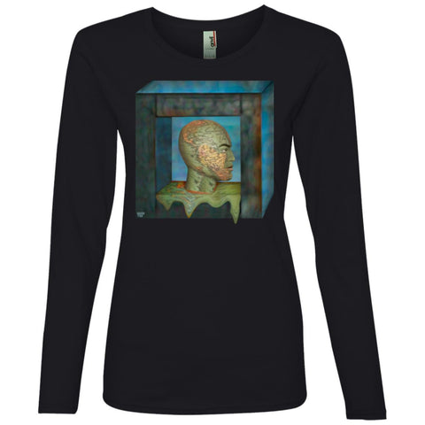 BOXED IN - Women's Long Sleeve Lightweight T-Shirt