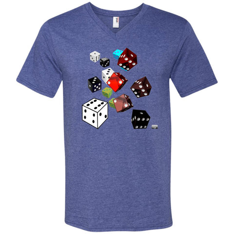 roll of the dice - Men's V-Neck T-Shirt