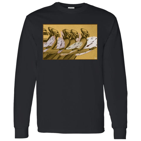 Time Marching On - color - Men's Long Sleeve T-Shirt