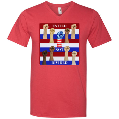 united not divided - Men's V-Neck T-Shirt