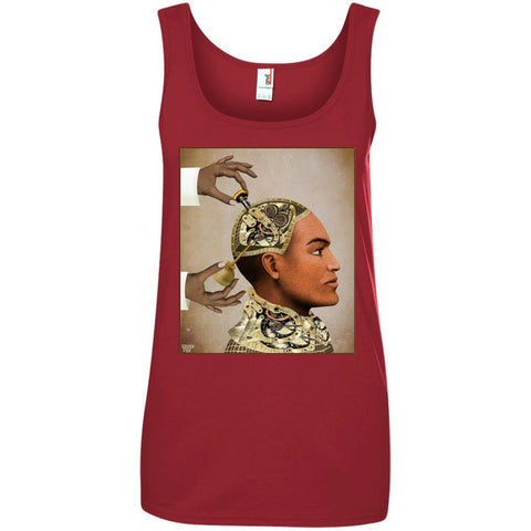 Repairs - Grunge - Women's Cotton Tank Top